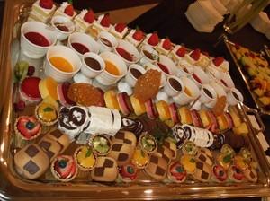 神戸迎賓館須磨離宮 レセプションパーティー デザート
